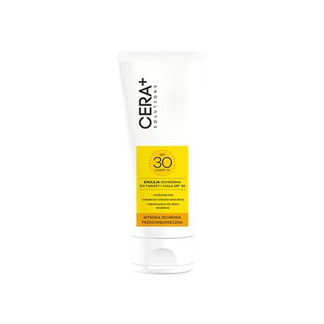 Emulsja ochronna do twarzy i ciała SPF 30, 200 ml Cera Plus Solutione