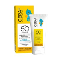 Krem ochronny na słońce z filtrami SPF 50 dla dzieci od 1. miesiąca życia, 50 ml Cara Plus Solutions