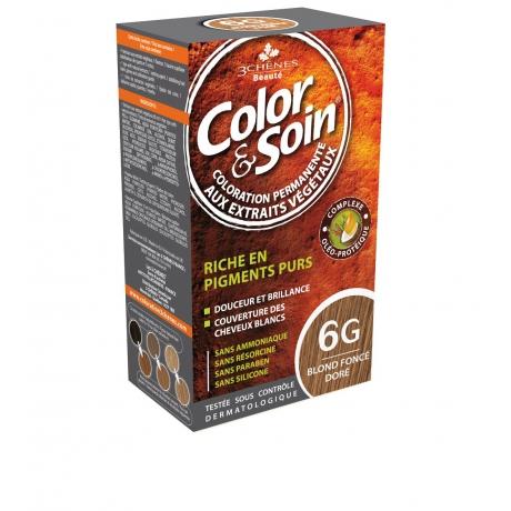 Color&Soin 6G - złocisty ciemny blond Farba do włosów