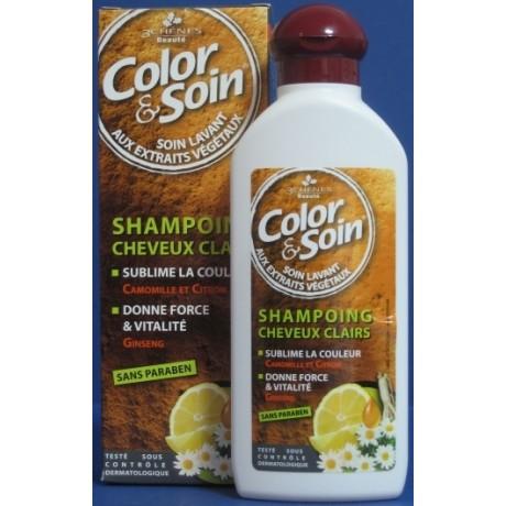 Color&Soin Szamon do Jasnych Włosów 250ml