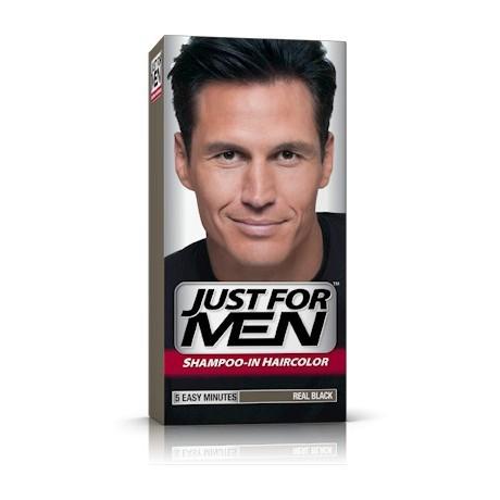 H-55 Just For Men szampon koloryzujący Czarny