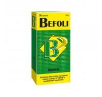 BEFOLI Witamina b complex o przedłużonym uwalnianu 30 tabletek